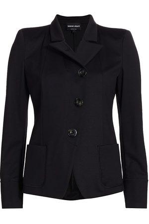 Armani Women's Jersey Blazer - - Size 10