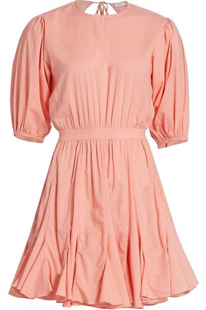 Rhode Women's Molly Fit-&-Flare Dress - Peach - Size Large