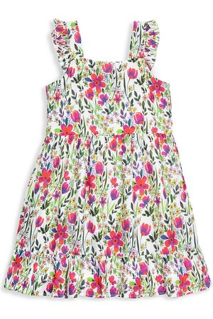 Egg New York Little Girl's & Girl's Melody Spring Floral Dress - Floral - Size 5