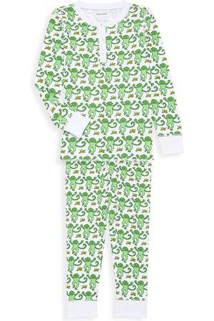 Roller Rabbit Baby Boy's, Little Boy's & Boy's 2-Piece Monkey Pajama Set - - Size 8