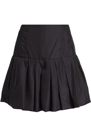 3.1 Phillip Lim Women's Bubble Hem Taffeta Mini Skirt - - Size 12