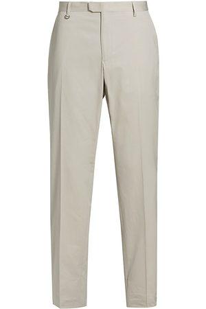 Z Zegna Men Pants - Men's Pleat-Front Trousers - Solid - Size 40