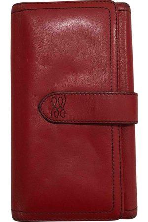 Lancel Gousset leather wallet