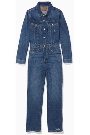 American Eagle Outfitters Denim Jumpsuit Women's 2