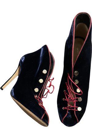 Gianvito Rossi \N Velvet Ankle boots for Women