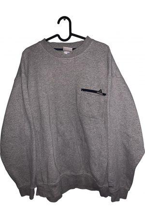 adidas Grey Cotton Knitwear & Sweatshirt