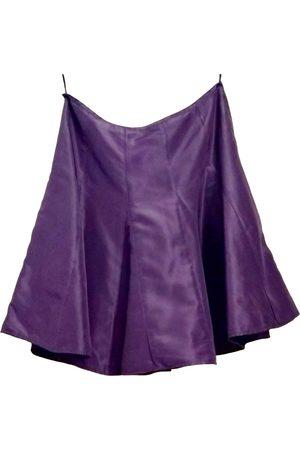 Ralph Lauren Silk mini skirt