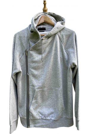 Alexander McQueen Grey Cotton Knitwear & Sweatshirts