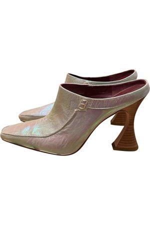 Sies marjan \N Leather Mules & Clogs for Women