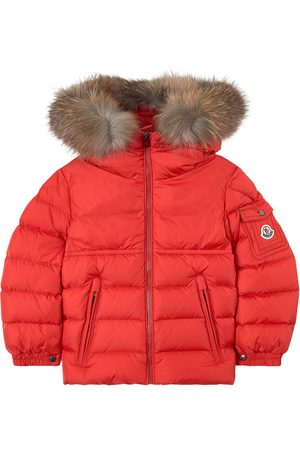 Moncler Boys Puffer Jackets - Kids - New Byron winter jacket with feather and down padding - Boy - 4 Years - - Padded and puffer jackets