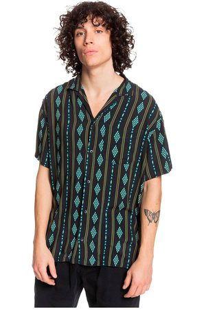 Quiksilver Men Shirts - Originals Diamond Stripe XXL Diamond Stripe
