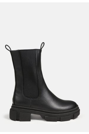 Missguided Chunky Pull On Ankle Boots