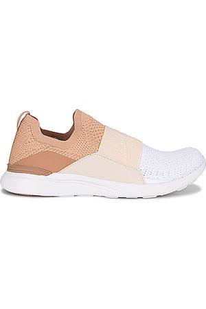 APL Athletic Propulsion Labs TechLoom Bliss Sneaker in Tan