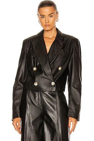 Loulou Studio Women Leather Jackets - Kadmat Leather Blazer in