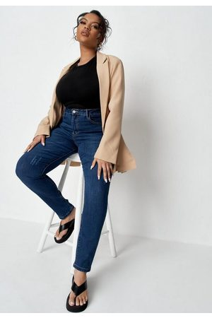 Missguided Plus Size Seam Detail Jeans