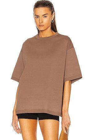 Alaïa Women Short Sleeve - Short Sleeve Top in Brown