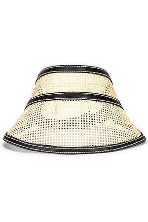 Janessa Leone Women Hats - Constance Visor in Neutral