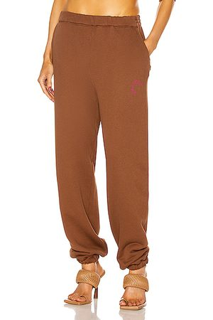 The Attico Peggy Pant in Brown