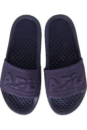 APL Athletic Propulsion Labs Women Sandals - TechLoom Slide in Navy