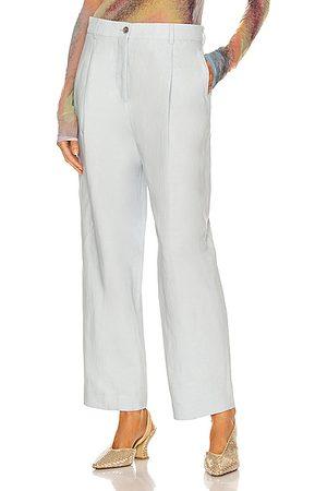 Acne Studios Formal Pants - Pleated Pant in Baby