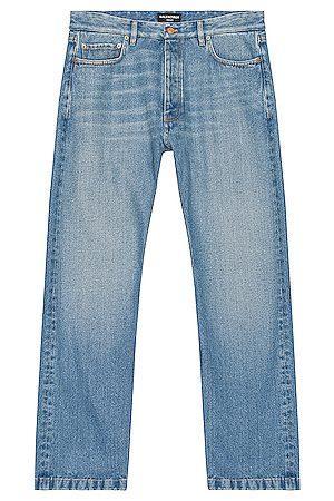 Balenciaga Men Straight - Normal Jeans in