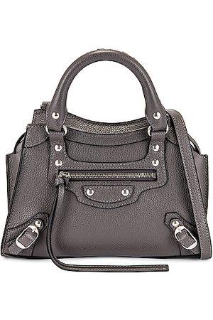 Balenciaga Mini Neo Classic City Bag in Grey