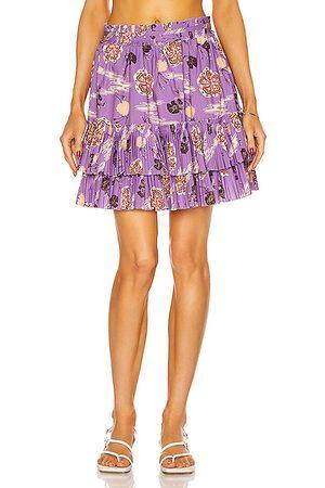 ULLA JOHNSON Leela Skirt in Purple