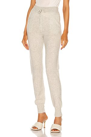 Loulou Studio Women Tracksuits - Maddalena Cashmere Jogger in Grey