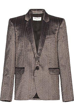 Saint Laurent Men Blazers - Blazer in Grey