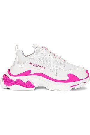 Balenciaga Women Sneakers - Triple S Sneakers in