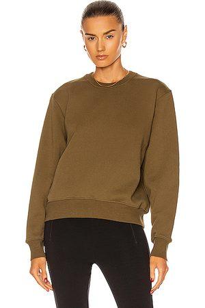 WARDROBE.NYC Track Sweatshirt in Army