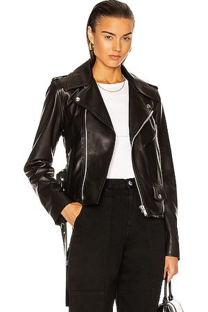 Helmut Lang Biker Leather Jacket in