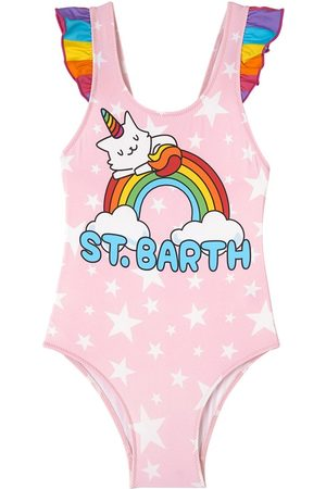 MC2 SAINT BARTH Girls Swimsuits - Kids - Rainbow Swimsuit - Girl - 1 year - - Swim suits
