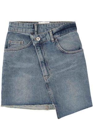 Les Coyotes de Paris Kids - Vivy Skirt Light Wash - Girl - 8 Years - - Denim skirts