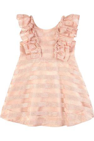 Tartine Et Chocolat Girls Casual Dresses - Pink Ruffle Dress - Unisex - 4 Years - - Casual dresses