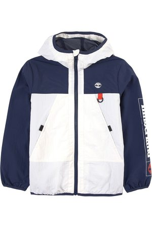 Timberland Boys Sports Jackets - Kids Sale - Navy Recycled Logo ´Nature Needs Heroes´ Windbreaker - Boy - 12 years - Navy - Windbreakers