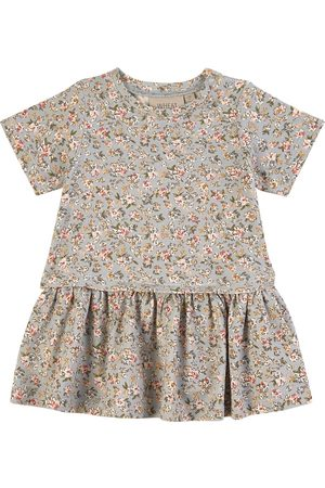 WHEAT Dress Adea Dusty Dove Flowers - Girl - 62 cm (2-4 Months) - - Casual dresses