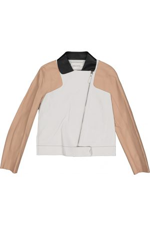 Longchamp \N Leather Jacket for Women