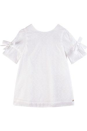 Tartine Et Chocolat White Bow Detail Dress - Unisex - 3 Years - - Casual dresses
