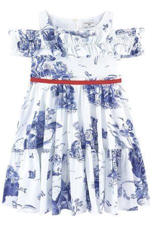 MONNALISA ABITO C/ROUCHES Popeline - Girl - 3 years - - Casual dresses