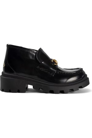 Gucci Kids - Leather Horsebit Harald Ankle Boots - Unisex - 27 (UK 10) - - Ankle boots