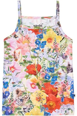 Molo Girls Tank Tops - Janice Tank Top Hide and Seek - Girl - 92/98 cm - - Tanks and vests