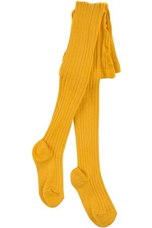 CONDOR Girls Stockings - Ribbed knit Baby tights - Unisex - 3-6 Months - - Tights
