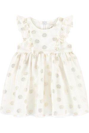 Tartine Et Chocolat Dotted Baby Dress White - Girl - 3 Months - - Casual dresses