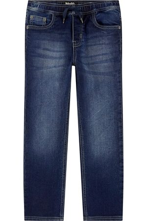 Molo Sale - Regular fit stone jeans - Boy - 3 Years - Navy - Jeans