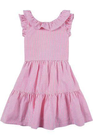 Ralph Lauren Girls Casual Dresses - Kids Sale - White Stripe/ Seersucker Dress - Girl - 2 years - - Casual dresses