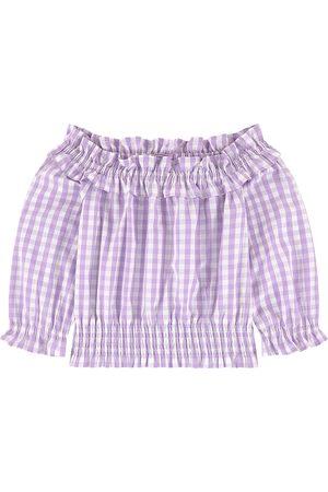 Scotch&Soda Kids Sale - Gingham Blouse Purple - Girl - 10 years - - Blouses
