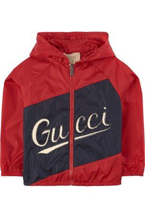 Gucci Kids - Embroidered Logo Windbreaker - Boy - 4 years - - Windbreakers
