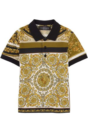 VERSACE Boys Polo Shirts - Kids Sale - Heritage Print T-Shirt - Boy - 24 months - - Polos