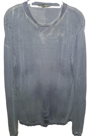 Dolce & Gabbana Navy Silk Knitwear & Sweatshirts